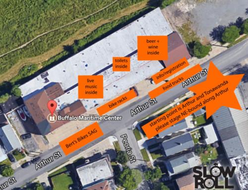 July 17 Buffalo Maritime Center Spot Map