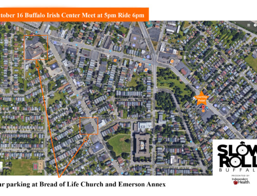 Parking Tips for Buffalo Irish Center Ride