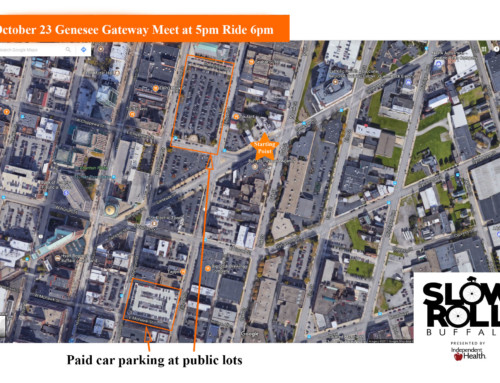 Parking Tips for Genesee Gateway Ride