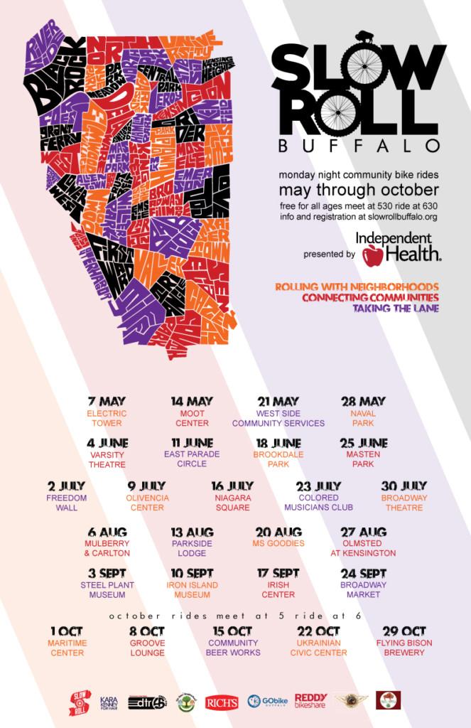 slow roll buffalo schedule
