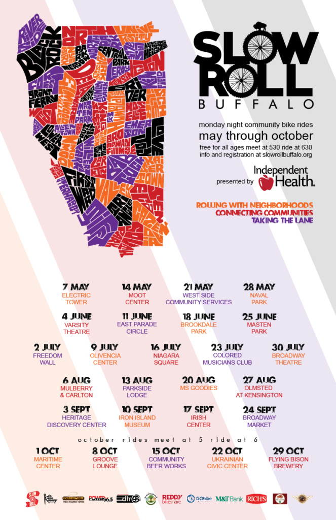 slow roll buffalo schedule
