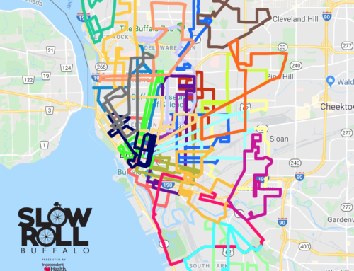 2019 Composite Map of Slow Roll Routes