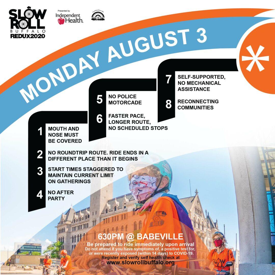 Slow Roll Buffalo 2020 - August