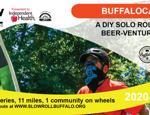 Public Rides Suspended – Solo Roll with our Buffalocal Beer Roll
