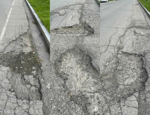 311 Thursday: Craters on Busti Bike Lane